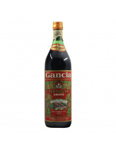 Gancia Vermouth Amaro Grandi Bottiglie