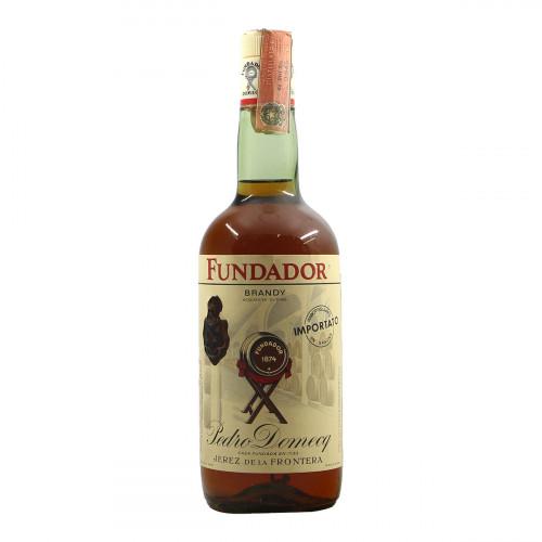 Pedro Domecq Brandy Fundador Grandi Bottiglie