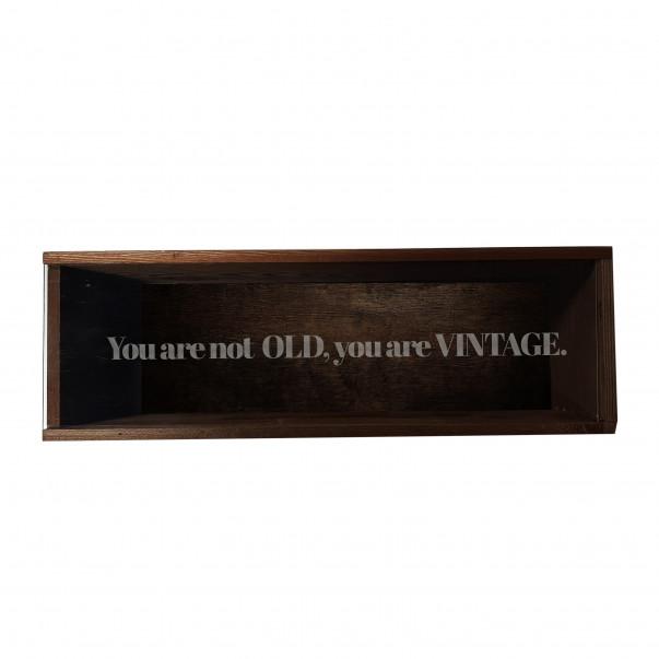 Custom Engraved Wood Wine Box - Plexiglass Cover 1 or 2 Bottles