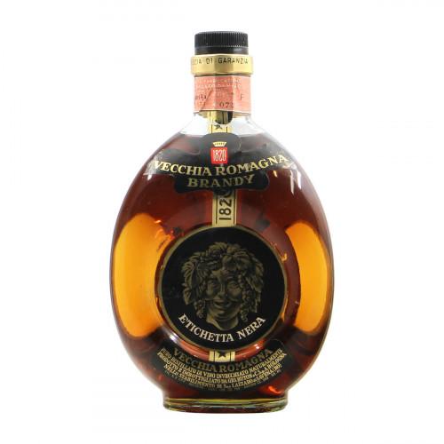 Vecchia Romagna Brandy Etichetta Nera Grandi Bottiglie
