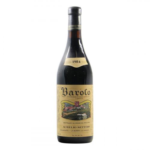 Aurelio Settimo Barolo 1984 Grandi Bottiglie