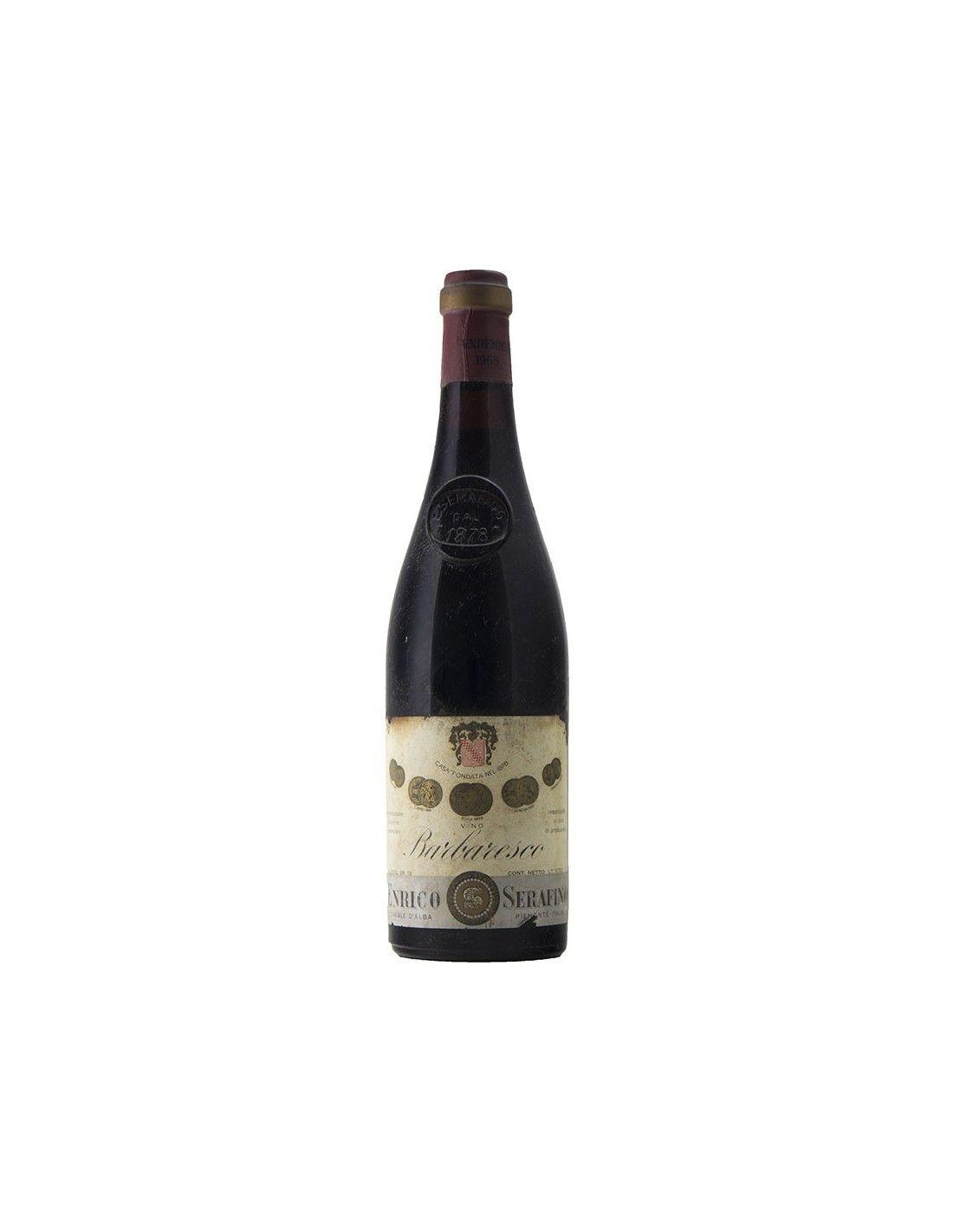 BARBARESCO RISERVA 1965 SERAFINO Grandi Bottiglie