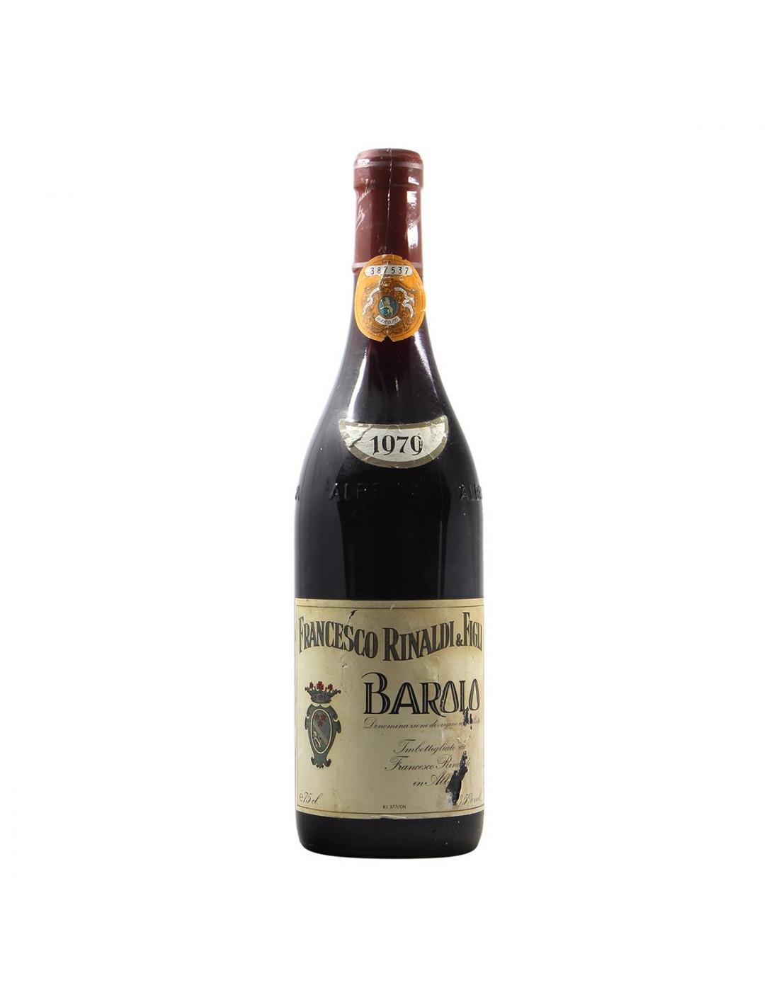 Francesco Rinaldi Barolo 1979 Grandi Bottiglie