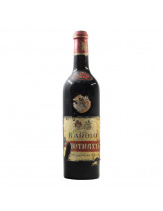 Contratto Barolo Damaged Label 1958 Grandi Bottiglie