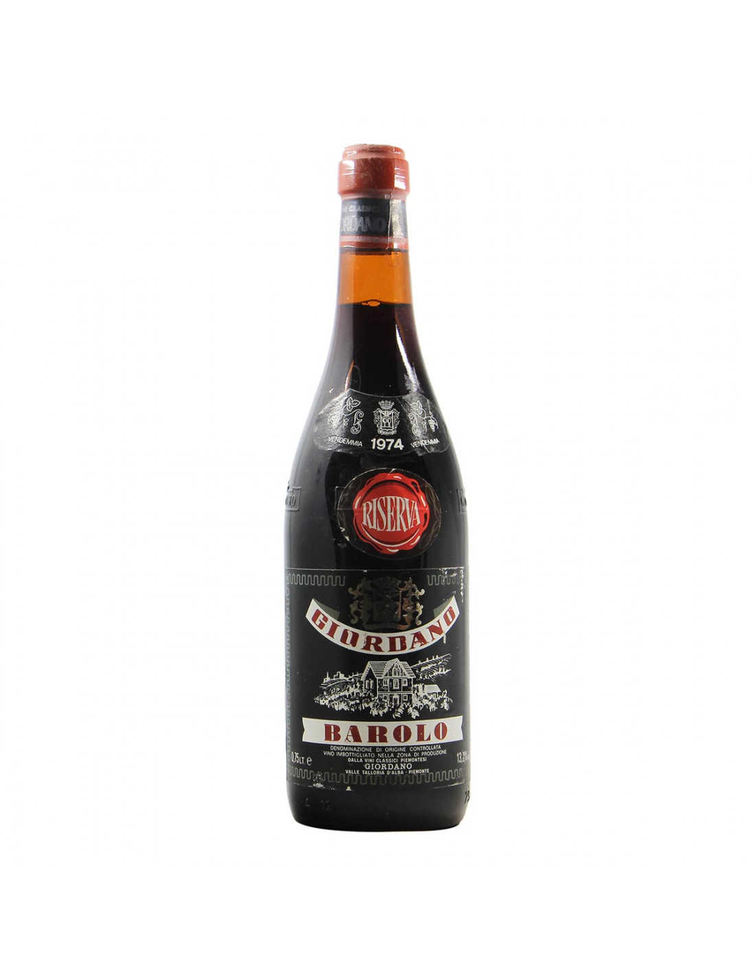 Giordano Barolo Riserva 1974 Grandi Bottiglie