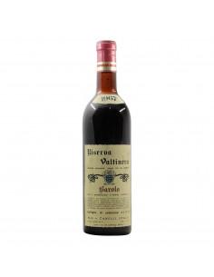 Cortese Barolo riserva Valtinera 1967 Grandi Bottiglie