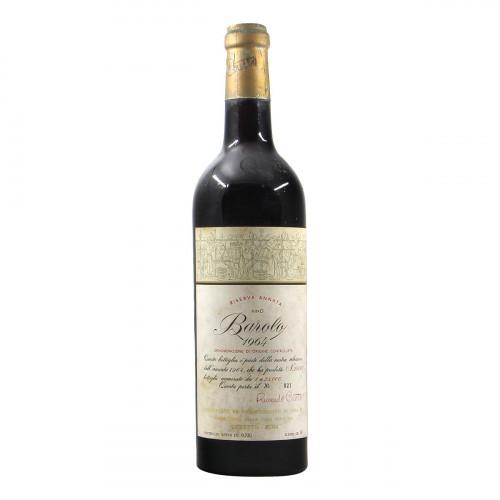 Ceretto Barolo Riserva 1964 Grandi Bottiglie