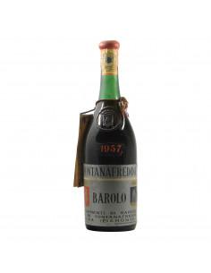 Fontanafredda Barolo 1957 Clear Color Grandi Bottiglie