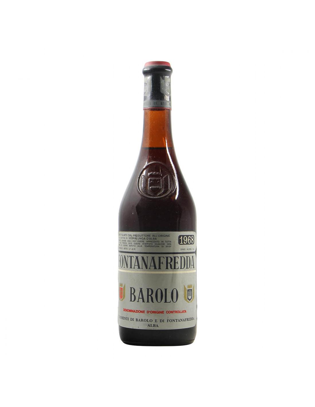 Fontanafredda Barolo Clear Color 1968 Grandi Bottiglie