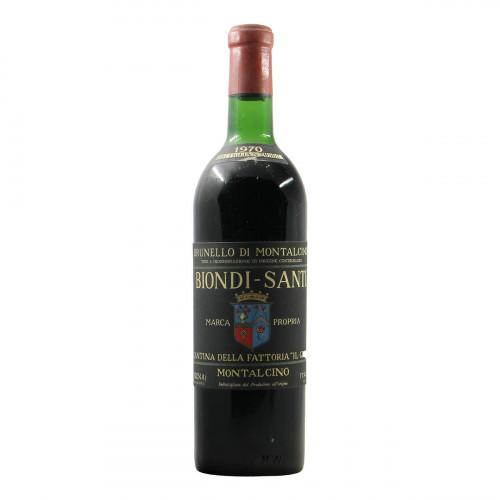 Biondi Santi Brunello di Montalcino 1970 Grandi Bottiglie