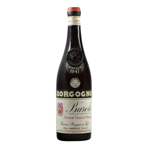 Borgogno Barolo Riserva Clear Colour 1947 Grandi Bottiglie