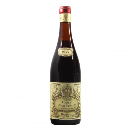Poderi Luigi Einaudi Barbera 1975 Grandi Bottiglie
