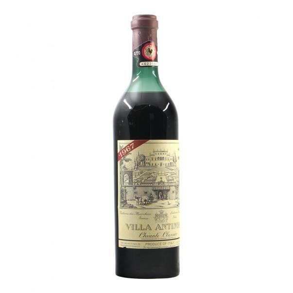 Antinori Chianti Classico Villa Antinori 1967 Grandi Bottiglie