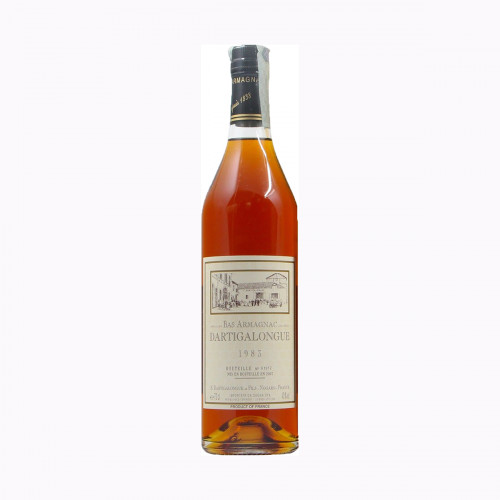 BAS ARMAGNAC 1983 DARTIGALONGUE Grandi Bottiglie