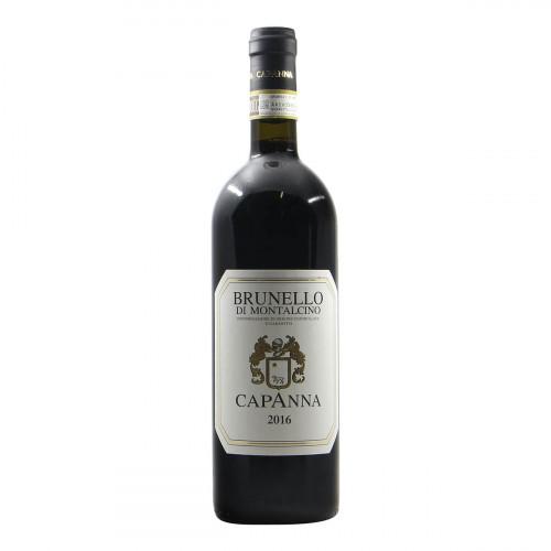 Capanna Brunello di Montalcino 2016 Grandi Bottiglie