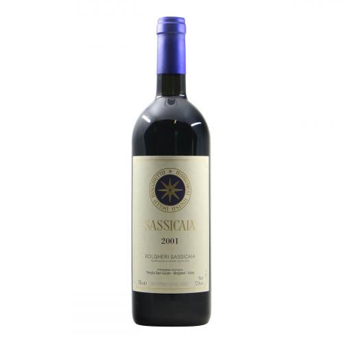 Tenuta San Guido Sassicaia 2001 Grandi Bottiglie