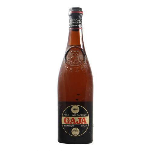 BARBARESCO CLEAR COLOUR 1961 GAJA