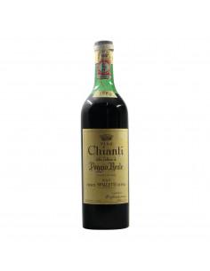 Spalletti Chianti Poggio Reale 1960 Grandi Bottiglie