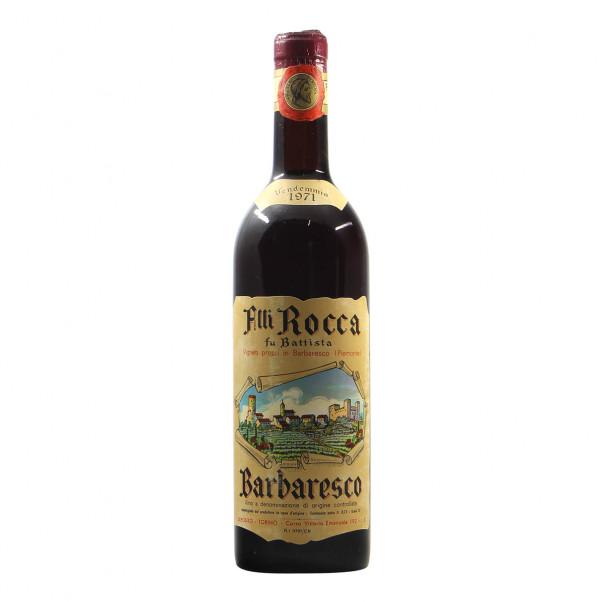 Fratelli Rocca fu Battista Barbaresco 1971 Grandi Bottiglie