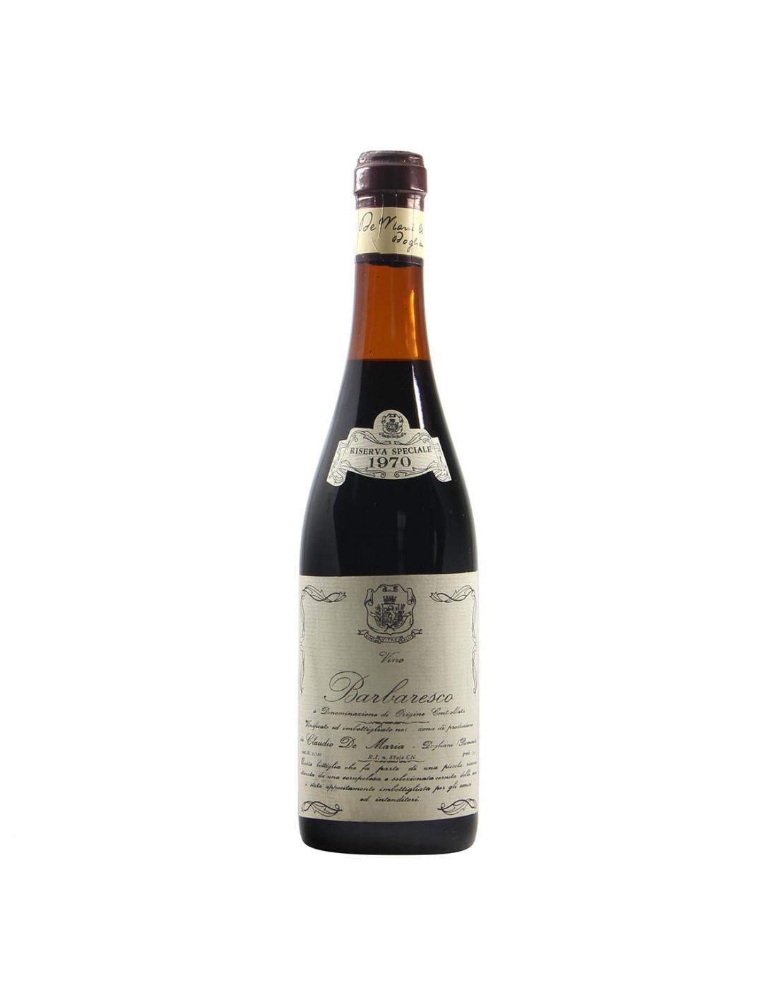 De Maria Barbaresco Riserva Speciale 1970 Grandi Bottiglie