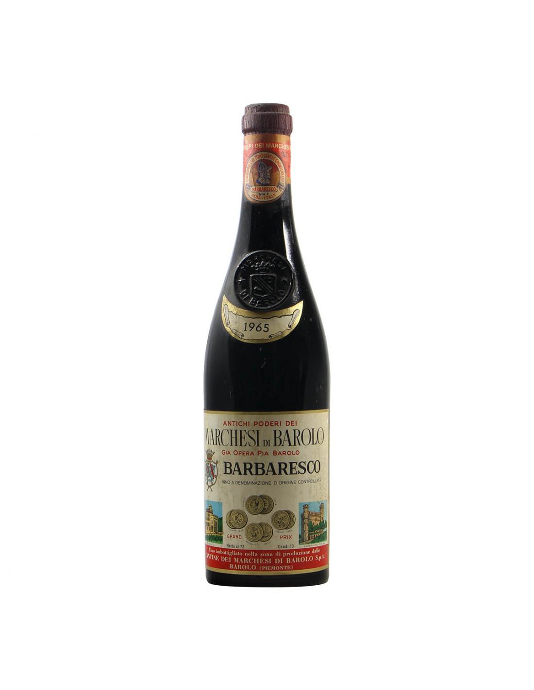 Marchesi di Barolo Barbaresco 1965 Grandi Bottiglie