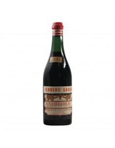 Ferrero Sauro Nebbiolo 1961 Grandi Bottiglie