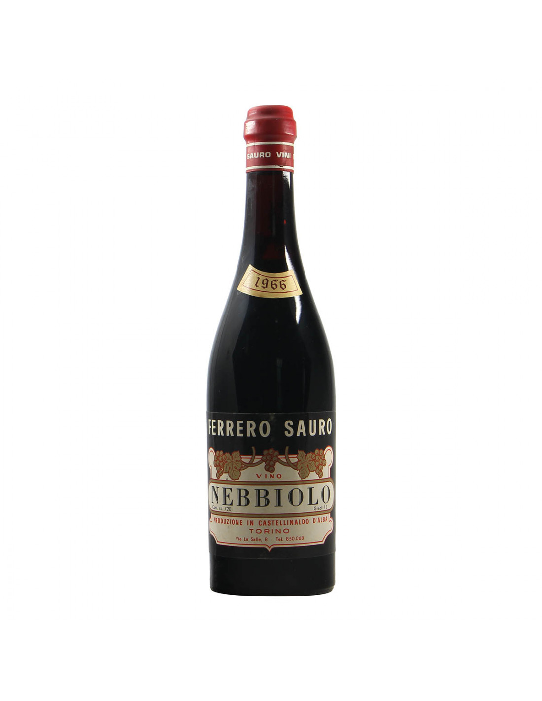 Ferrero Sauro Nebbiolo 1966 Grandi Bottiglie