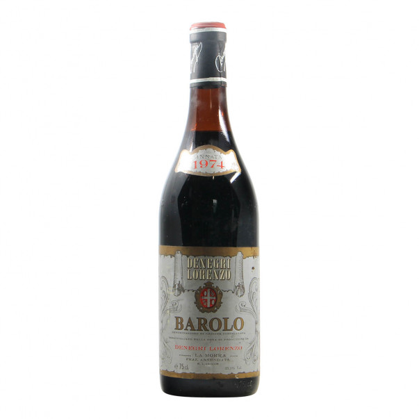 Denegri Lorenzo Barolo 1974 Grandi Bottiglie