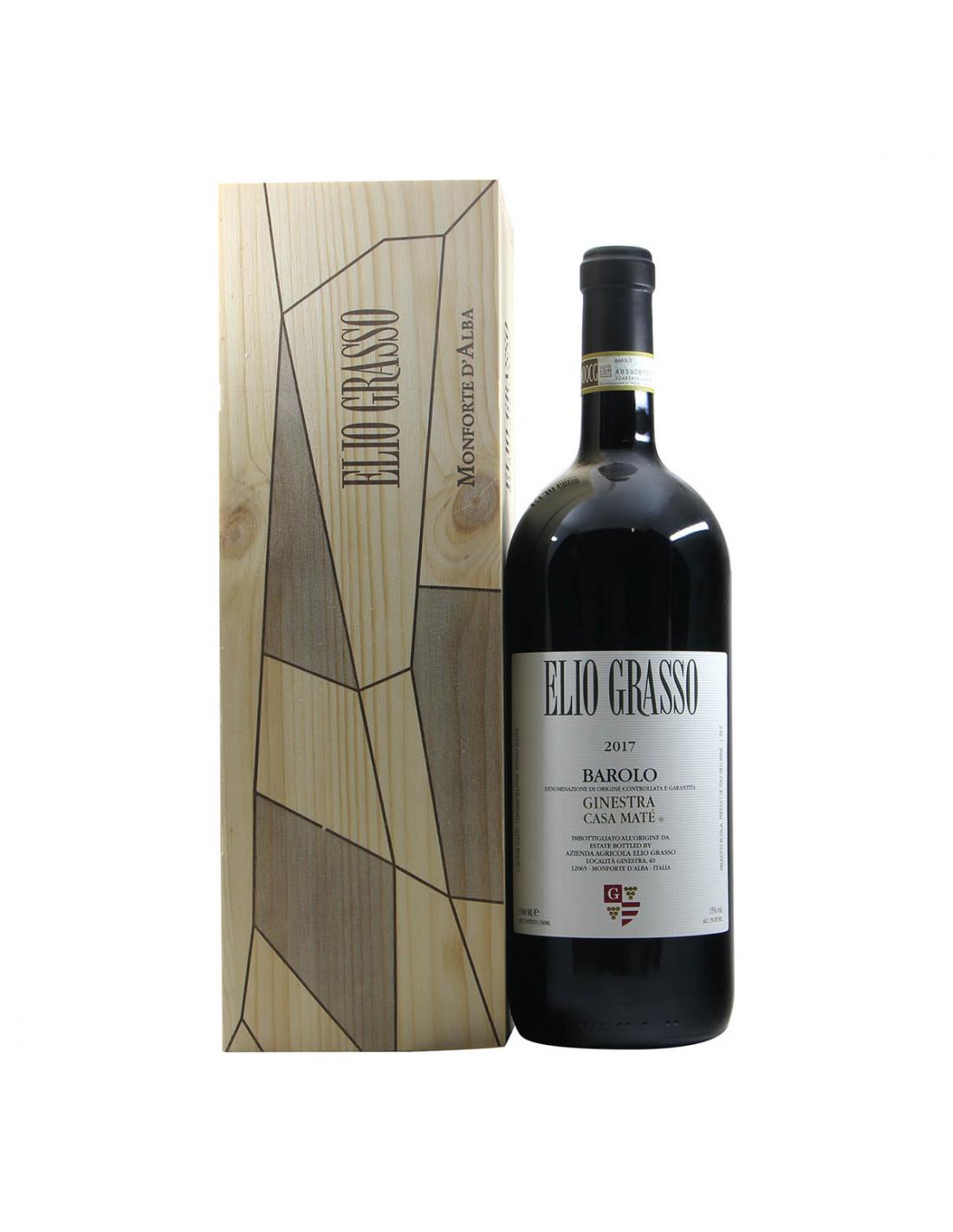 Elio Grasso Barolo Ginestra Casa Mate Magnum 2017 Grandi Bottiglie