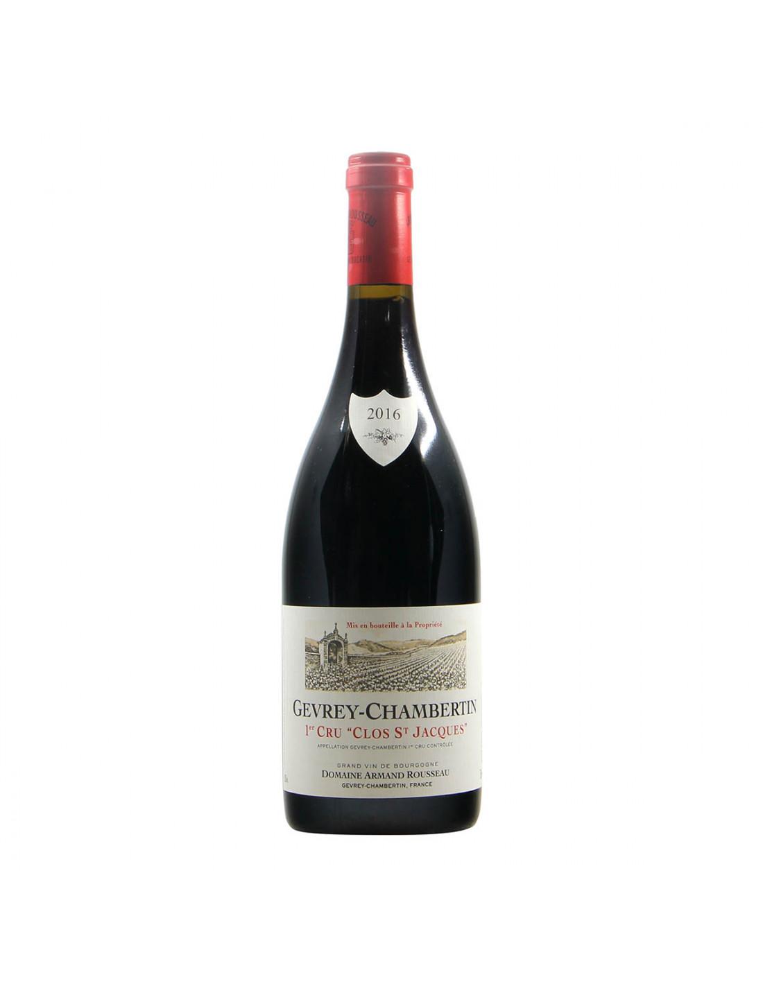 Armand Rousseau Gevrey-Chambertin qer Cru Clos St Jacques 2016 Grandi Bottiglie