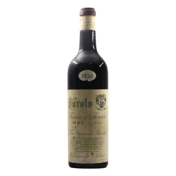 Fiorina Franco Barolo 1950 Grandi Bottiglie