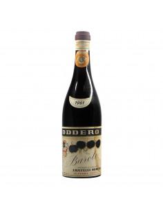 Oddero Barolo 1961 Grandi Bottiglie