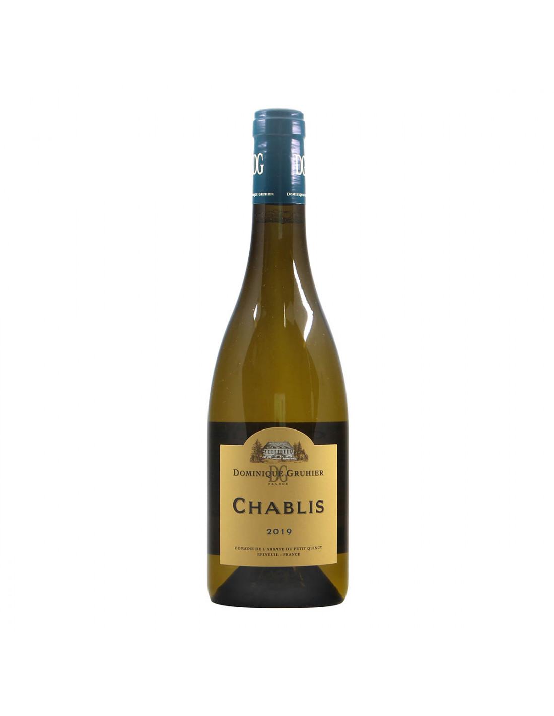 Gruhier Chablis 2019 Grandi Bottiglie