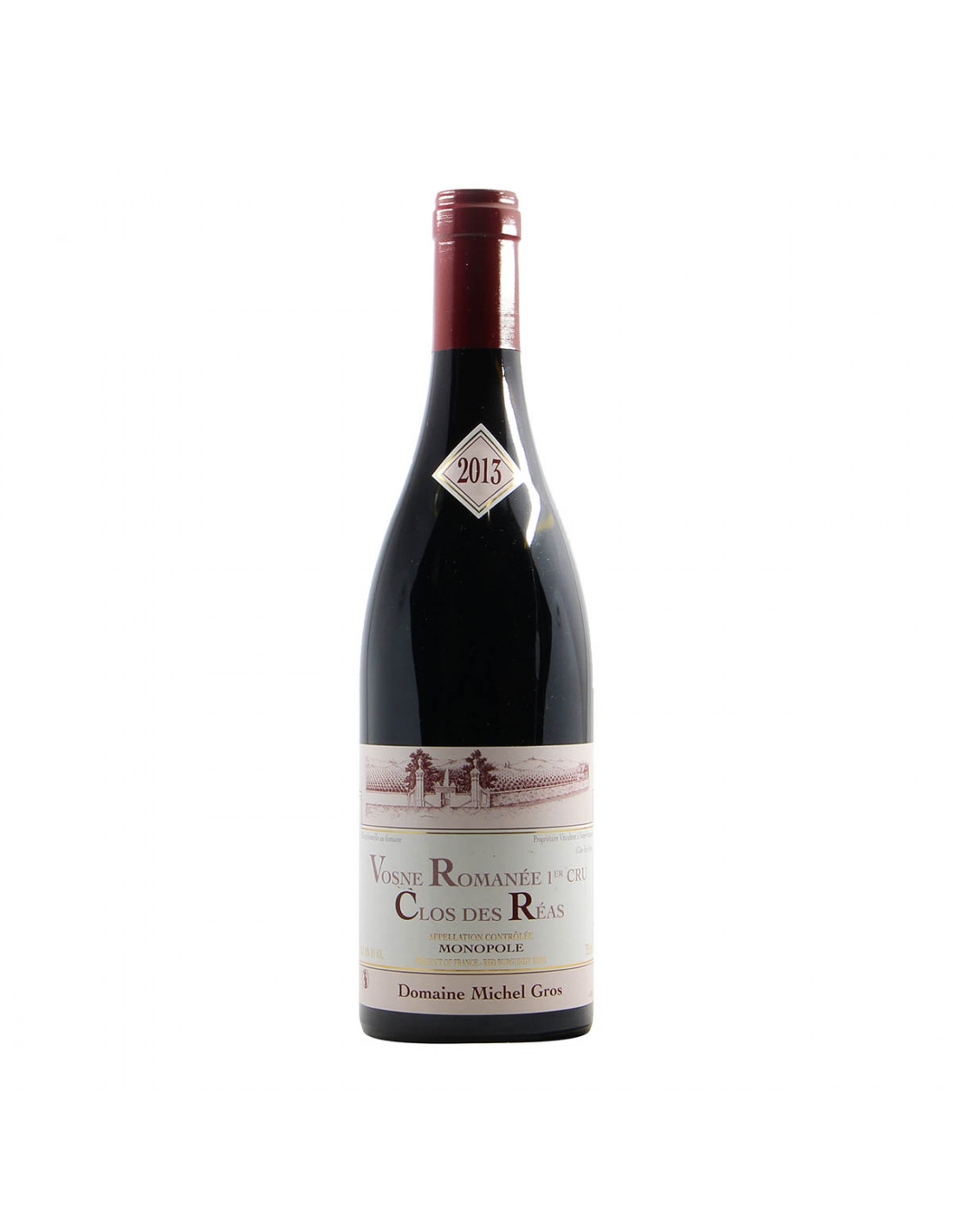 Domaine Michel Gros Vosne Romanee 1er Cru Clos des Reas 2013 Grandi Bottiglie