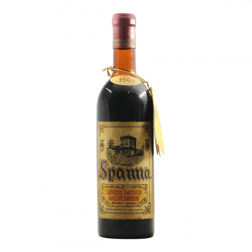 Cantina Sociale dei Colli Novaresi Spanna 1964 Grandi Bottiglie