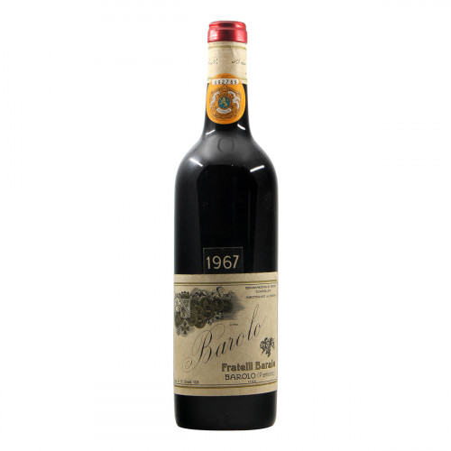 Fratelli Barale Barolo 1967 Grandi Bottiglie