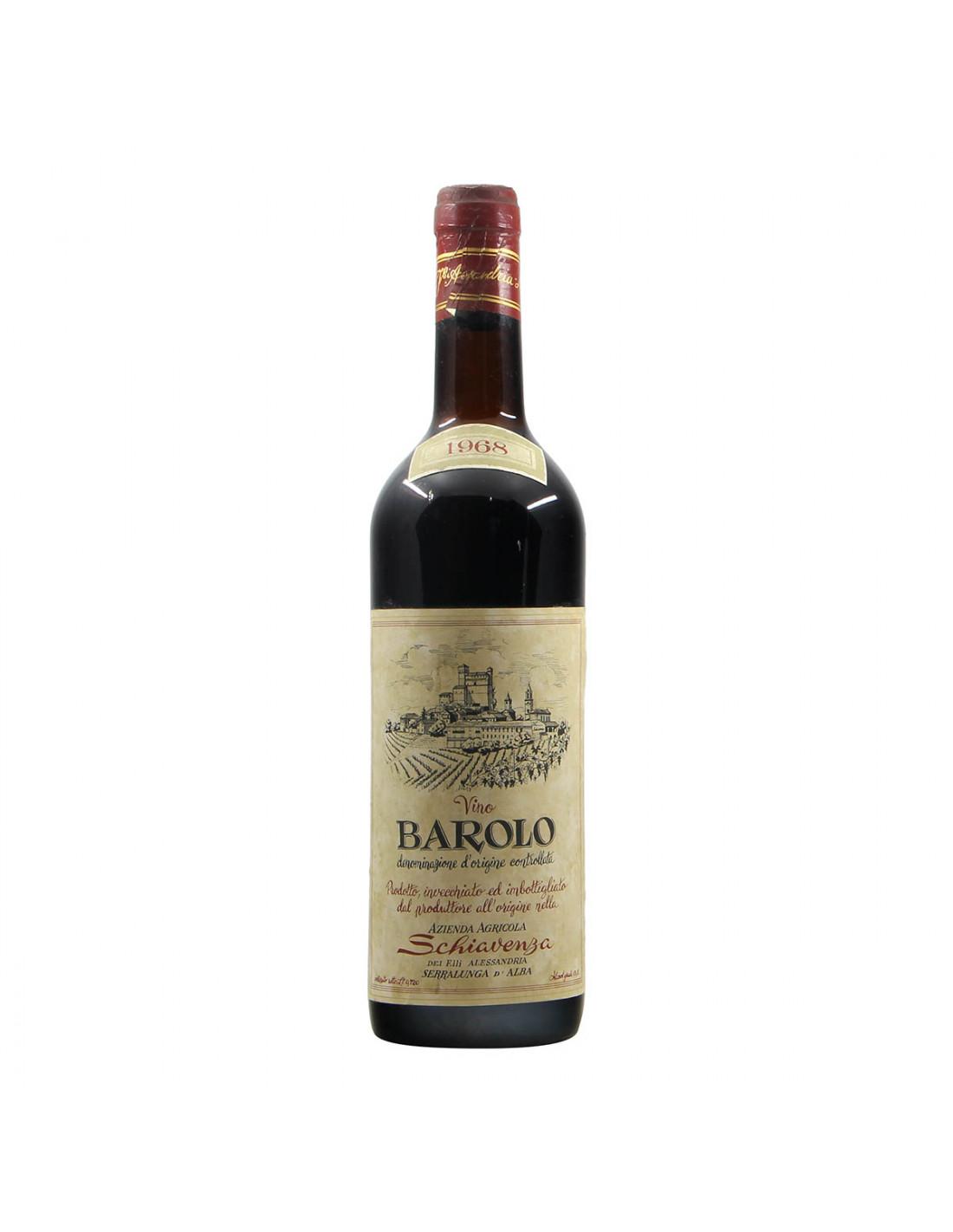 Schiavenza Barolo 1968 Grandi Bottiglie