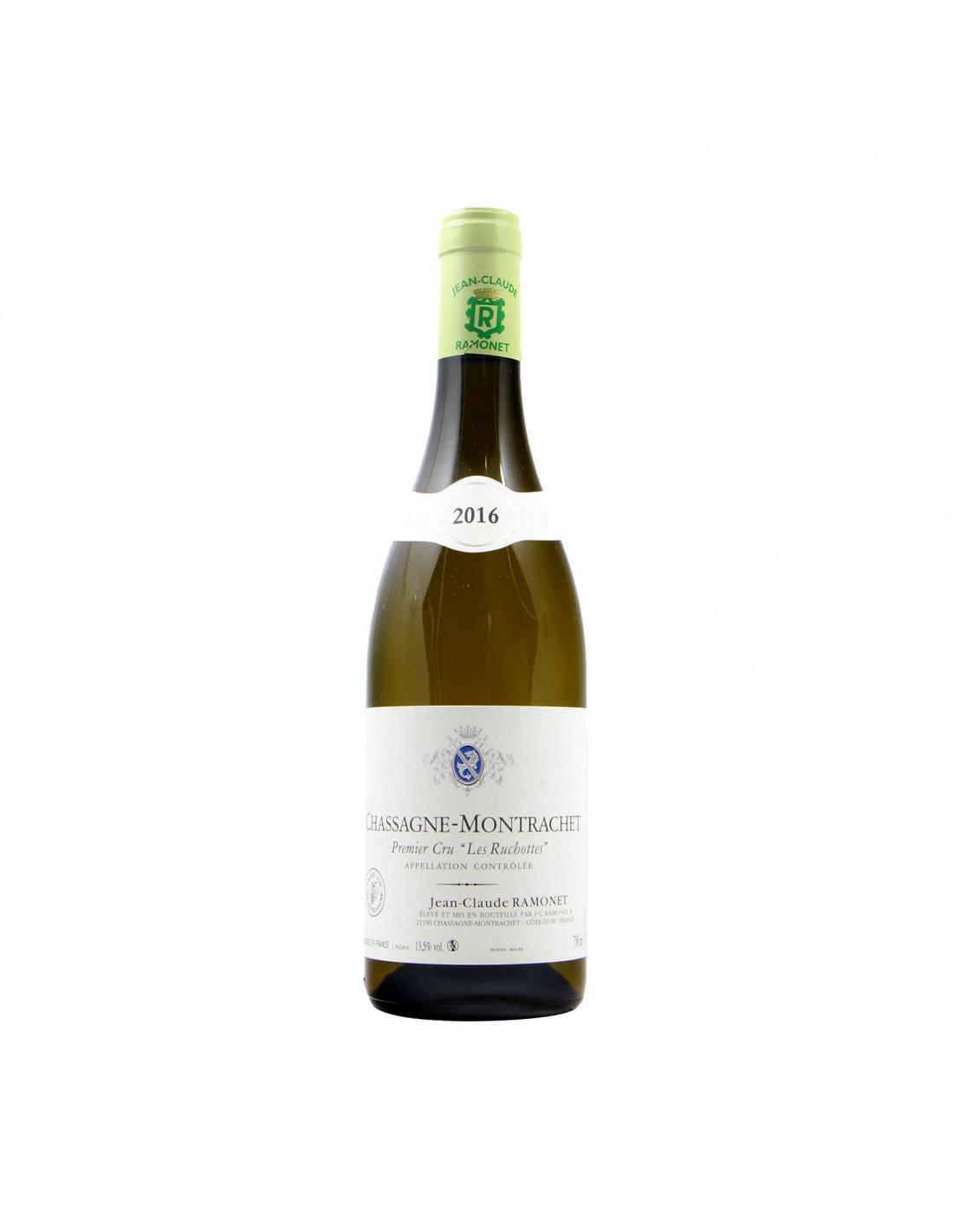 Ramonet Chassagne Montrachet 1er Cru Les Ruchottes 2016 Grandi Bottiglie