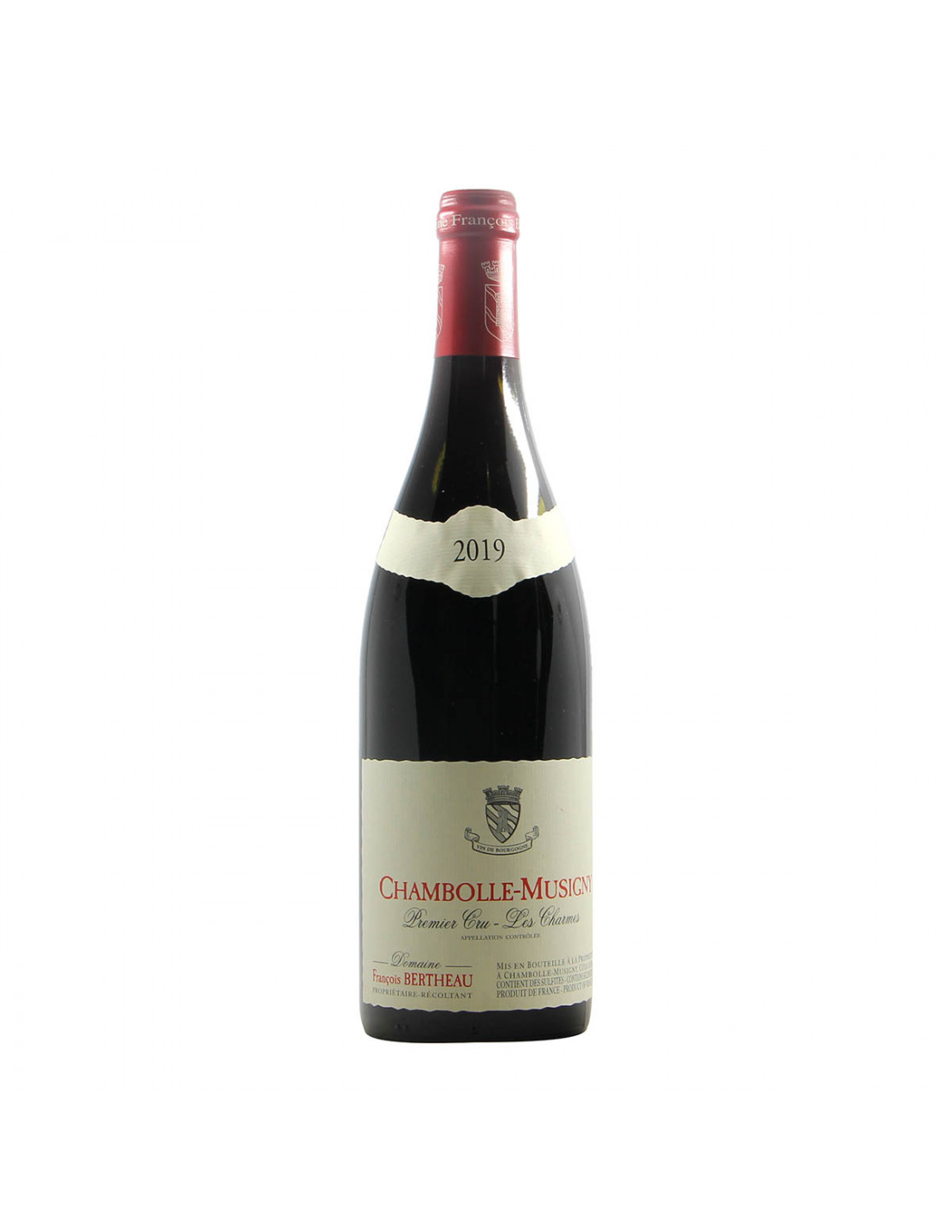Francois Bertheau Chambolle Musigny 1er Cru Les Charmes 2019 Grandi Bottiglie