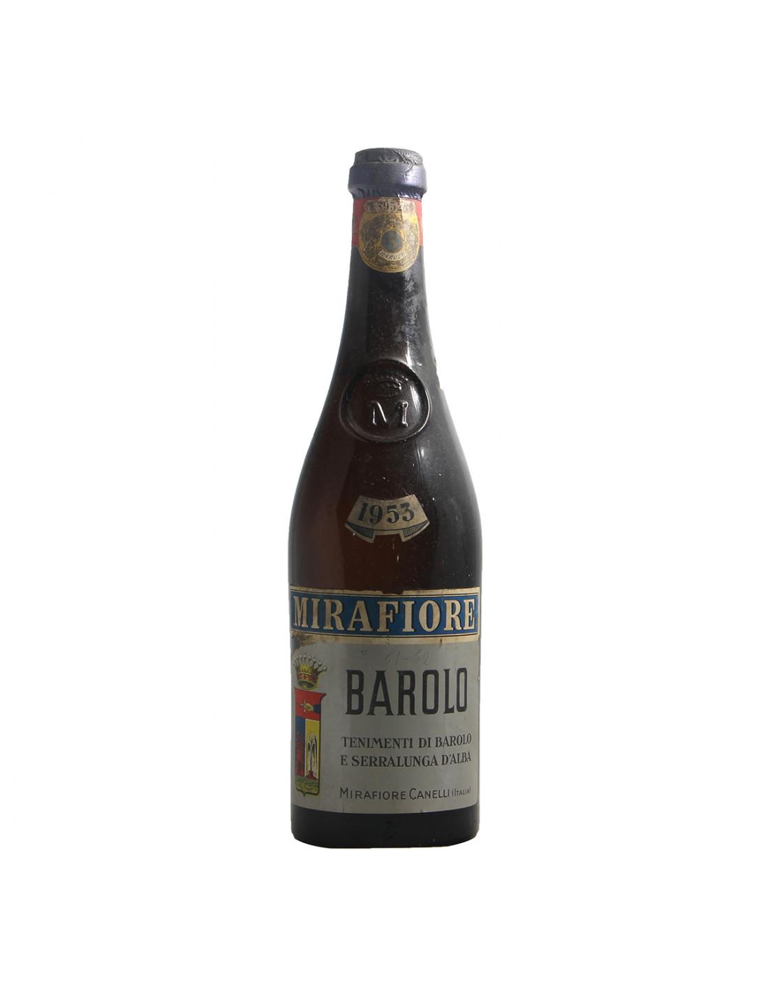 Mirafiore Barolo 1953 Low Level Grandi Bottiglie