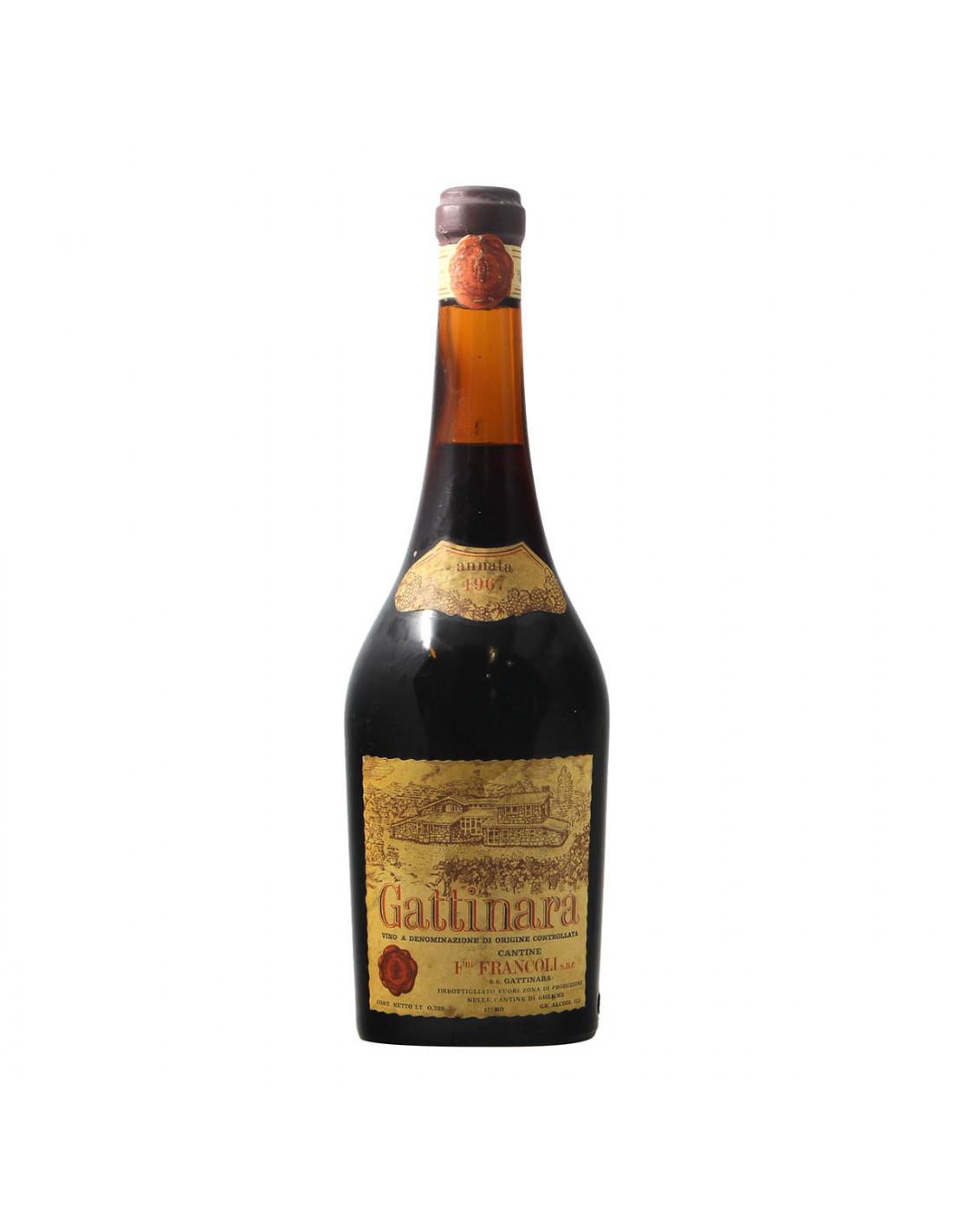 Francoli Gattinara 1967 Grandi Bottiglie