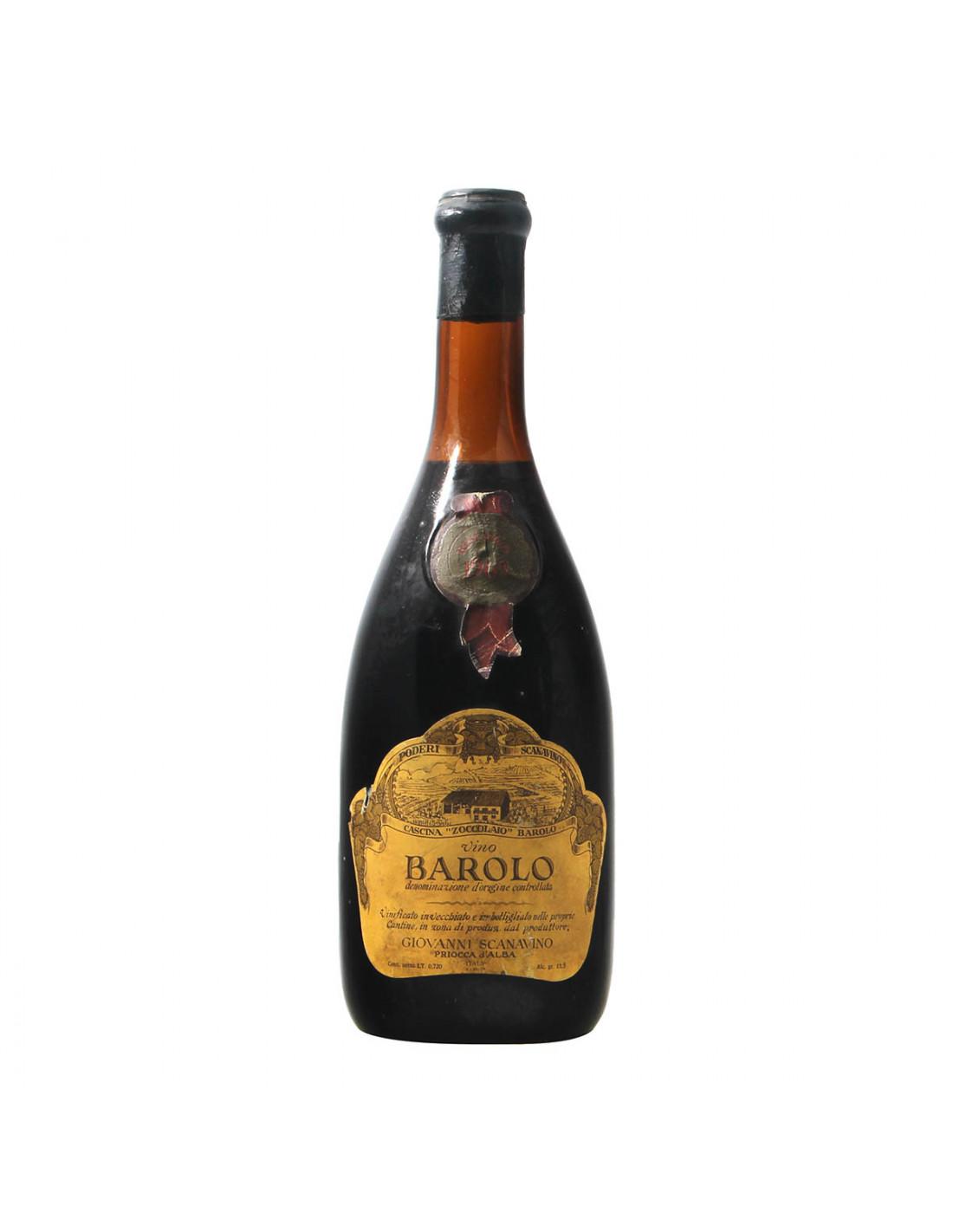 Scanavino Barolo Riserva 1969 Grandi Bottiglie