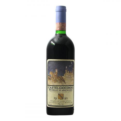 Frescobaldi Brunello di Montalcino Castelgiocondo 1982 Grandi Bottiglie