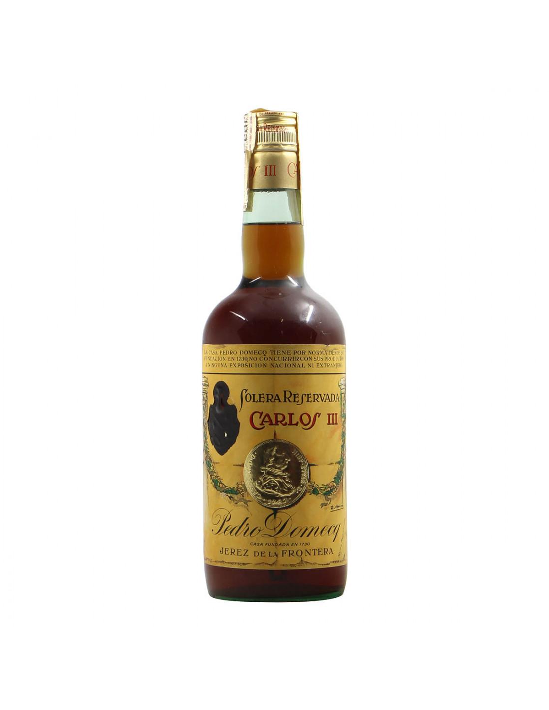 Pedro Domecq Solera Reservada Carlos III Grandi Bottiglie