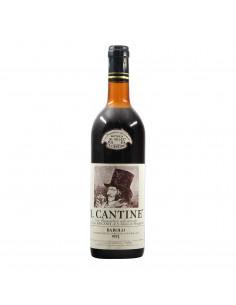 Prunotto Barolo Cantine 1973 Grandi Bottiglie
