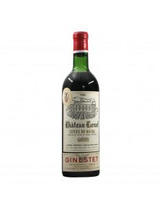 Ginestet Chateau Caruel Cotes de Bourg 1964 Grandi Bottiglie