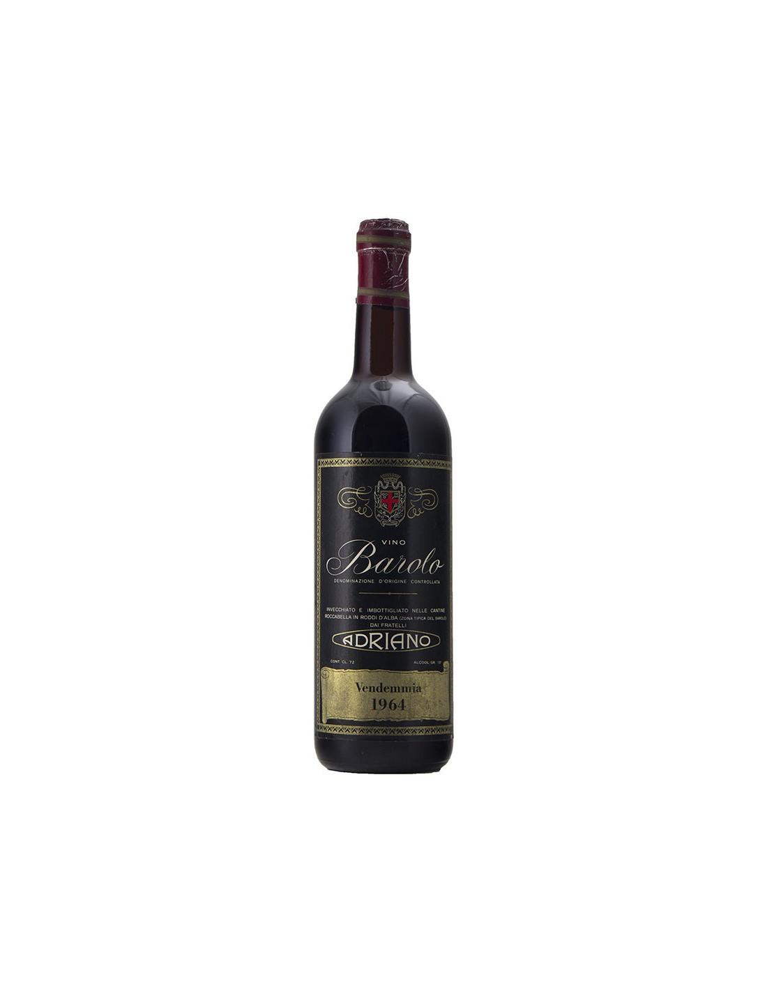 BAROLO 1964 FRATELLI ADRIANO Grandi Bottiglie