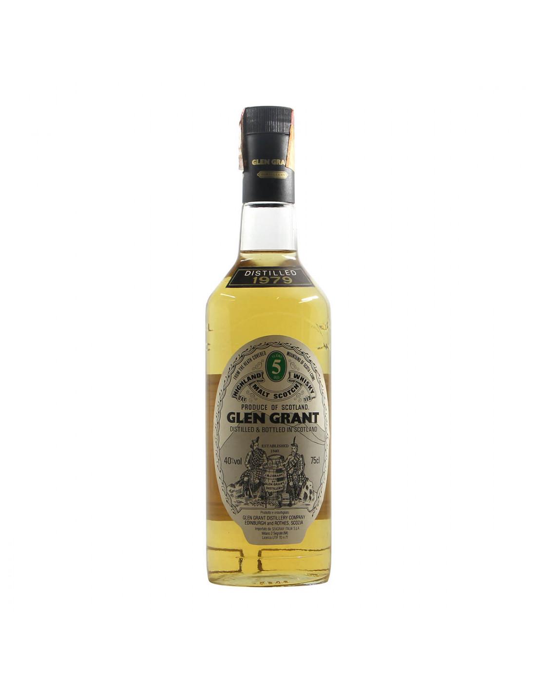 Glen Grant Highland Malt Scotch Whisky Distilled 1979 Grandi Bottiglie