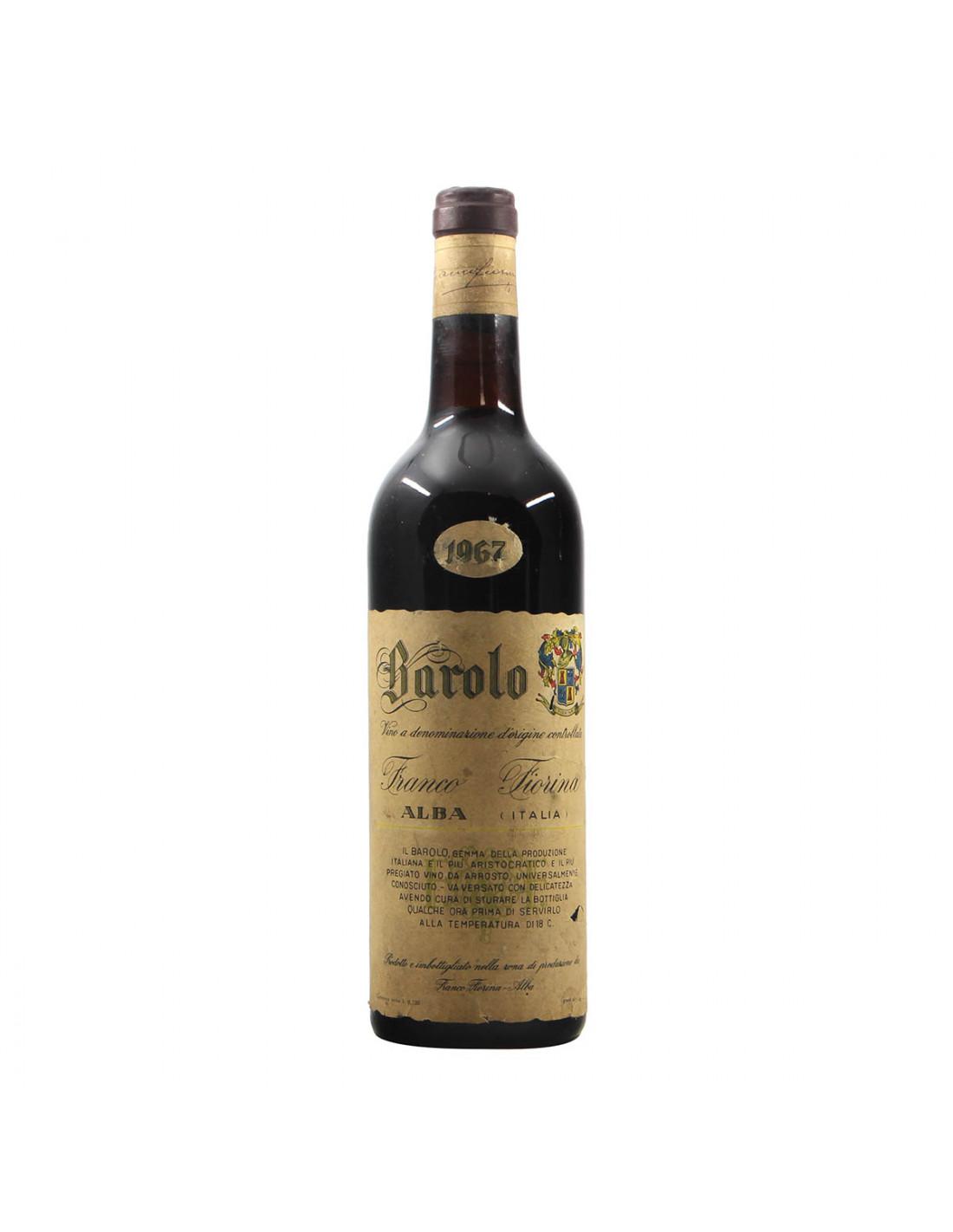 Fiorina Franco Barolo 1967 Grandi Bottiglie
