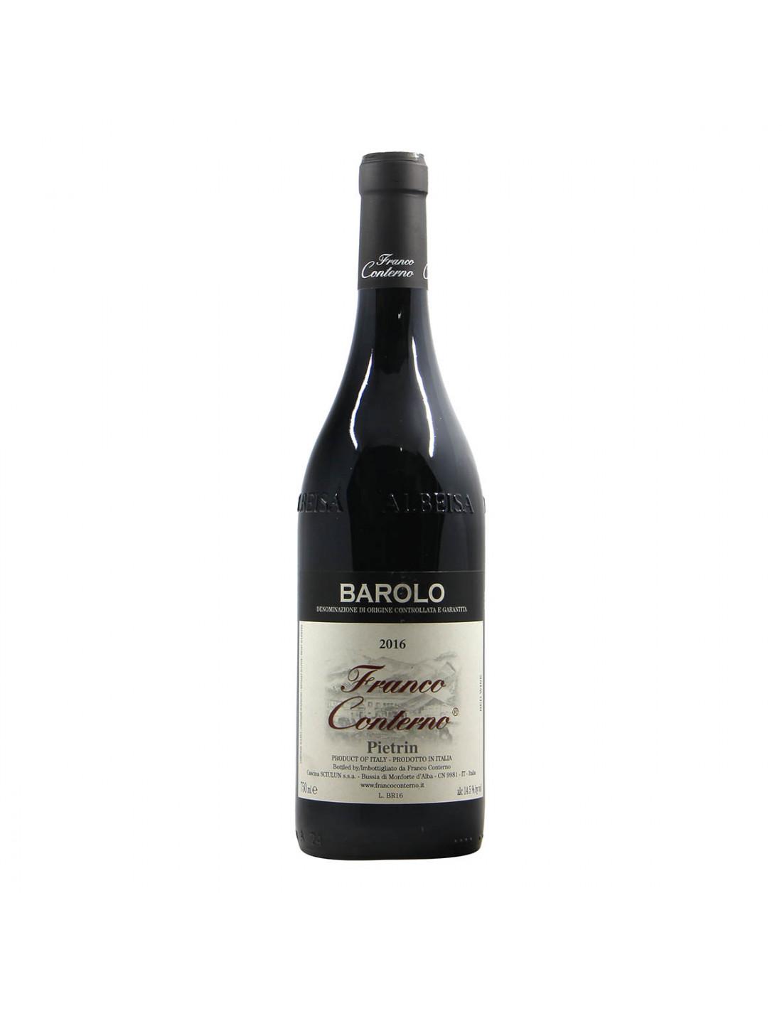 Franco Conterno Barolo Pietrin 2016 Grandi Bottiglie